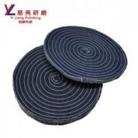 China abrasive jeans cotton grinding wheel for metal/stainless steel/ hardware on sale