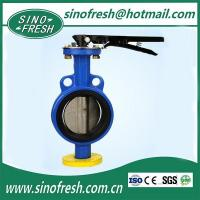 Buy cheap Pipe Welding Machine Wafer Type Butterfly Valve from wholesalers