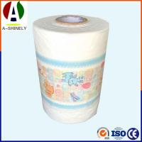 Buy cheap High Density Laminated Cloth-Like Film For Making Disposable Adult Baby Diapers Materials from wholesalers