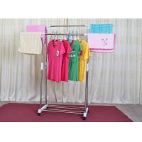 Buy cheap stainless steel double pole clothes rack with length and hei from wholesalers