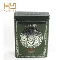 Buy cheap Lion Perfume Packaging Metal Tin Box from wholesalers