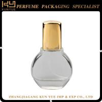 Buy cheap Design your own perfume bottle china perfume glass bottle with ribbon supplier from wholesalers