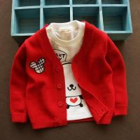 Wholesale Foreign trade boutique baby sweater Baby sweater coat Children wear cotton cardigan sweater ATST0026 from china suppliers