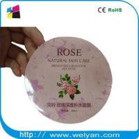 High quality perfume label sticker wholesale