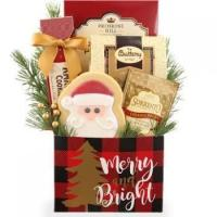 China Merry Christmas Dog and Owner Gift Basket on sale