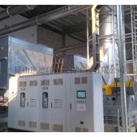 Liquid crystal panel exhaust gas treatment solutions