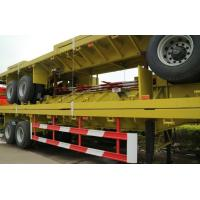 Container flatbed trailers