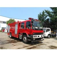 Wholesale 4*2 ISUZU 7CBM foam fire truck for sale from china suppliers