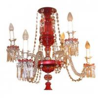 China Antique Ruby Red Glass Chandelier Stock Number: L73 on sale
