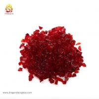 Wholesale Embedding Red Glass Chips in Outdoor Concrete Countertops from china suppliers