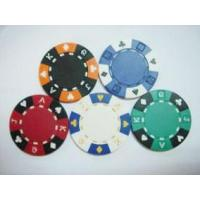 Buy cheap suit design poker chip from wholesalers