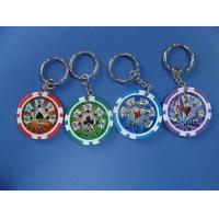 Buy cheap eight stripe chip with key-chain from wholesalers