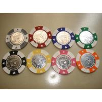 Buy cheap coin-inlay chip from wholesalers