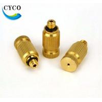 Buy cheap Anti dripping Chemical Spraying Hollow Cone Micro Misting Nozzles for Sprayers from wholesalers