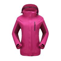 Wholesale Woman's heated outdoor hoodie hiking jacket from china suppliers