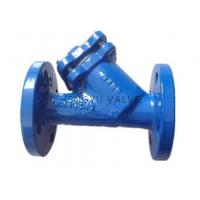 Butterfly valve Y STRAINER FLANGED