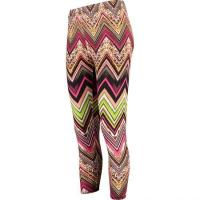 Wholesale Ladies Multi Abstract Active Leggings from china suppliers
