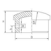 Wholesale MGF Dead-End Cap for Tubular Bus from china suppliers