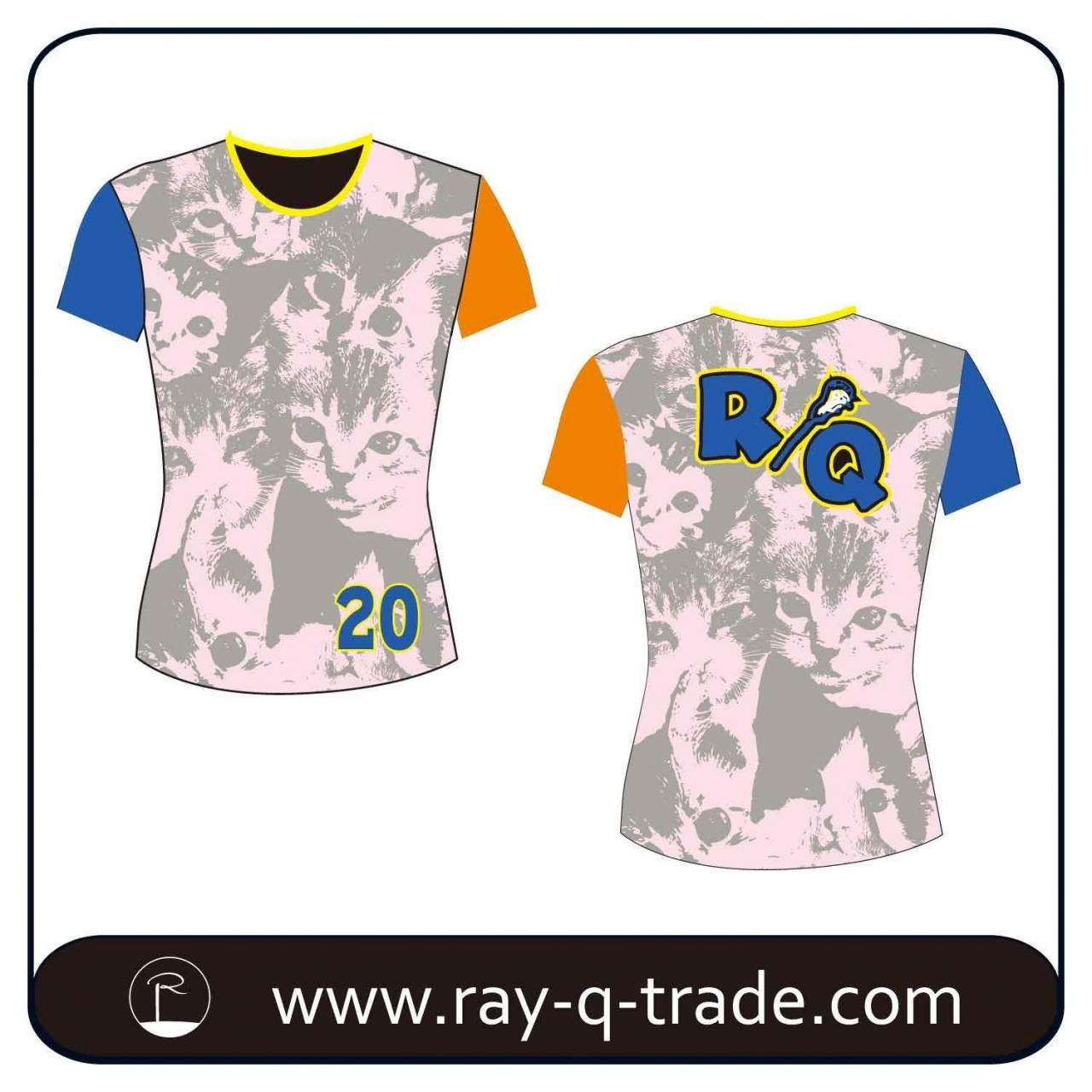 Buy cheap T shirt Fully sublimated Lacrosse Shirt Product No.:RQTS-009 from wholesalers