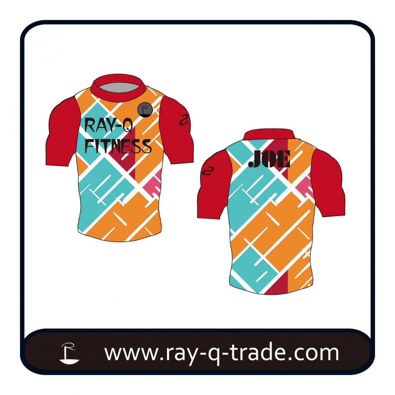 Buy cheap Compression Shirt Men's Compression Sports Shirt Product No.:RQFS-003 from wholesalers