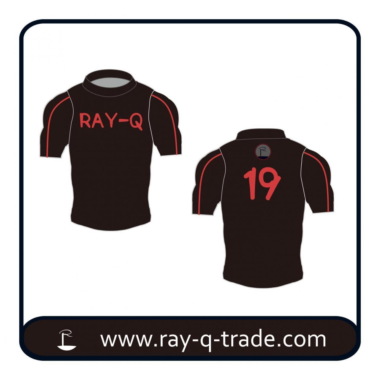 Buy cheap Popular Custom Printing male v neck Gym sports men's T shirt Product No.:RQFS-006 from wholesalers