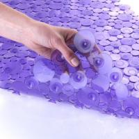 Wholesale SlipX Solutions Sea of Circles Bath Mat - Purple-Bathtub Mats from china suppliers