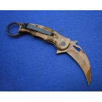 FOX claw camouflage karambit knife
