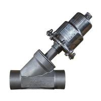 Buy cheap Angle Seat Valve Y type stainless steel angle seat valve from wholesalers