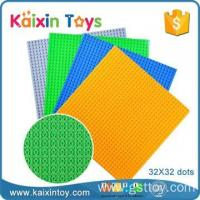 Wholesale ABS plastic material 32*32 dots building block base plate for assembling from china suppliers