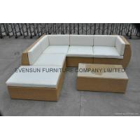 China Garden rattan sofa set on sale