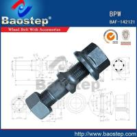 Wholesale Cold Forged BPW Wheel Nuts and Bolts from china suppliers