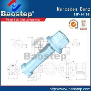 Quality Cold Forged Mercedes Benz Wheel Nuts and Bolts for sale