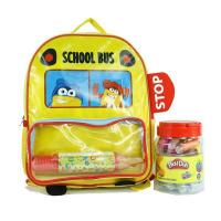 Buy cheap The cuit PlayDoh PVC backpack comes with a big pencil case in front pocket from wholesalers