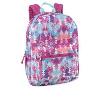 Buy cheap All Over Printed Beauty backpack 17 Inch With Padded Straps from wholesalers