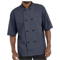 Wholesale Men's Lightweight Short Sleeve Chef Coat from china suppliers