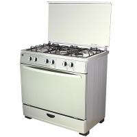 China Five Burners Gas Stove with Gas Oven on sale
