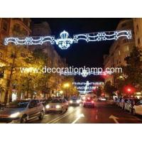 Giant LED Christmas motif light outdoor Street light up decoration