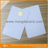 Wholesale Contact IC Card FM4442 blank white card from china suppliers
