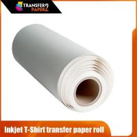 China 0.42x30m size laser t-shirt transfer paper for 100% cotton on sale
