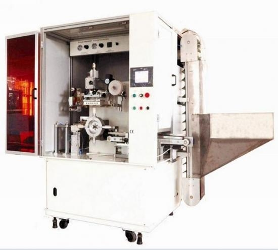 Quality Automatic hot foil printing machine for cosmetic caps for sale
