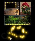 Wholesale LED 6.5 Foot Waterproof String Light - Yellow from china suppliers