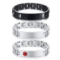Wholesale Wholesale Stainless Steel Mens Blank ID Bracelet #BR-620 from china suppliers