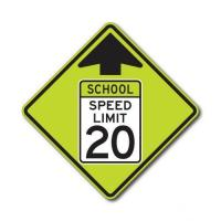 Buy cheap Construction Signs S4-5 School Speed Limit Ahead from wholesalers