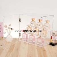 Wholesale Acrylic perfume organizer box cosmetic display rack from china suppliers
