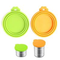 Buy cheap SRK#505 Silicone fresh-keeping cover collapsible lid for food cans from wholesalers
