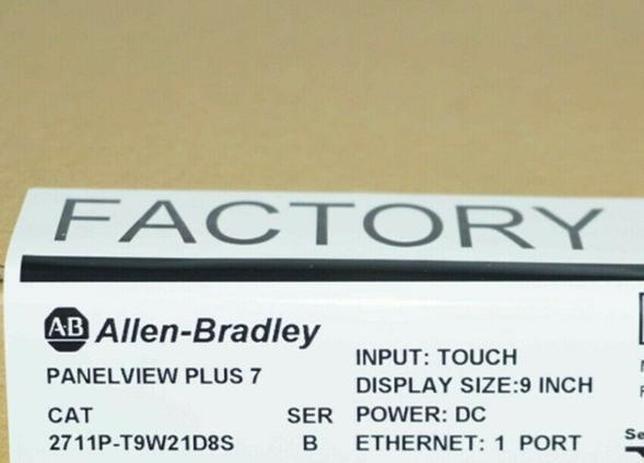 China 2711P-T9W21D8S Allen Bradley PanelView Plus 7 Standard 900W Brand new Fast delivery