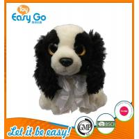 Wholesale Customized OEM promotion gift plush dog with tie from china suppliers