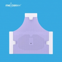 Wholesale Meicen Violet Triangular Reinforced 3-Point Head Mask with Grip Radiotherapy Thermoplastic Mask from china suppliers