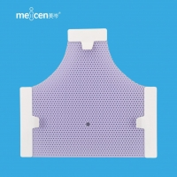 Buy cheap Meicen Violet Triangular 3-Point Head Mask with Grip Radiotherapy Thermoplastic Mask from wholesalers