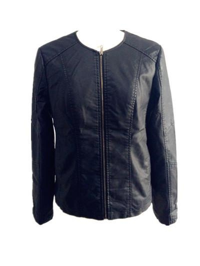 China Fake Leather Lady Jacket
